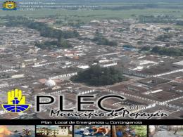Presentacion PLEC popayan - Centro de documentación e