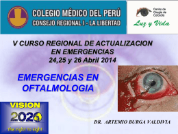 Emergencia Oft - CMP