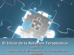 El Inicio de la Relacion Terapéutica.