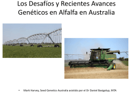 The Challenges and Recent Genetic Advances of Alfalfa