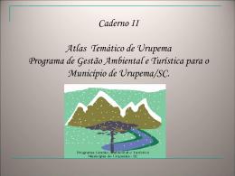 projeto gestão turística e ambiental