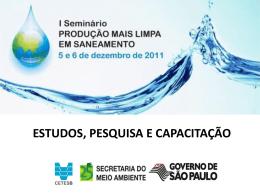 Seminário P+L em Saneamento – Dez 2011 – CETESB – M. Ines