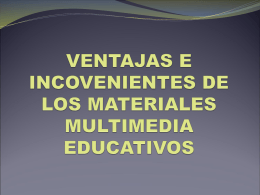 MULTIMEDIOS PRESENTACION - Tecnologia-Educativa-UCR