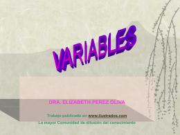 Variables  - Ilustrados.com