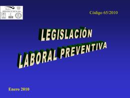 Curación Rehabilitación LEGISLACIÓN LABORAL - AURA-O