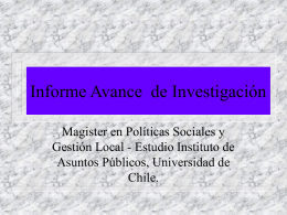 Sandoval, D. Estructura descentralizacion