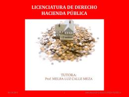 Proposiciones normativas y positivas en la Hacienda Pública.