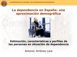 La dependencia en España