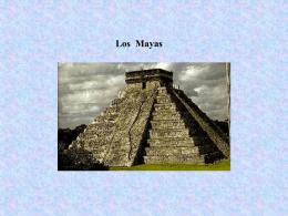 Los mayas - hartmutstoesslein.de