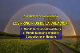 Principio de la Creacion