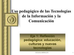 educación, culturas y nuevas tecnologías