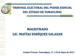 MEDIOS DE IMPUGNACIÓN ELECTORAL