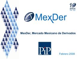 Plantilla 2007 - Mercado Mexicano de Derivados