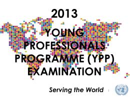 2013 YPP Presentación