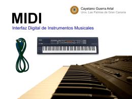 MIDI - Universidad de Las Palmas de Gran Canaria