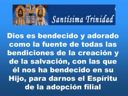 Santísima Trinidad, Ciclo C.
