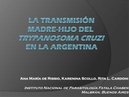 La transmisión madre-hijo del Trypanosoma cruzi en la Argentina