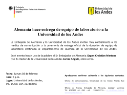 Diapositiva 1 - Embajada Alemana Bogotá