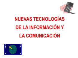 Características generales de la Sociedad de la Información.