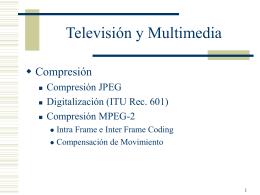 Compresión Imagen standard JPEG