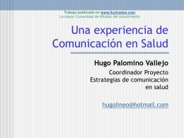 Una experiencia de Comunicación en Salud