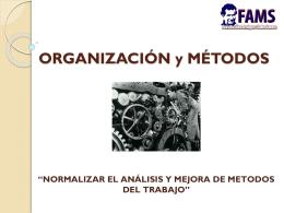 organizacion-metodos - Tecnológico EuroAmericano