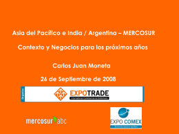 China - Mercosur ABC