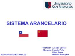 SISTEMA ARANCELARIO - Ingeniería comercial uss