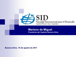 Situación internacional - Confederación Argentina de la Mediana