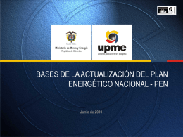 Plan Energético Nacional