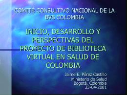COMITÉ CONSULTIVO NACIONAL DE LA BVS COLOMBIA
