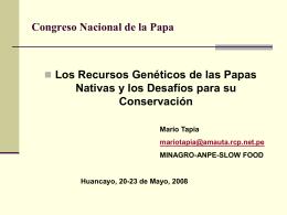 Congreso Nacional de la Papa