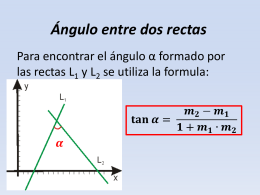 G analitica 13 angulo entre rectas