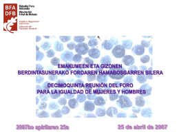 Diapositiva 1 - Bizkaiko Foru Aldundia