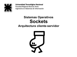 Sockets - XP
