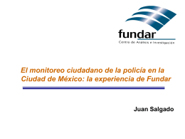 Juan Salgado-Monitoreo Policia