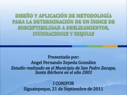 diseño y aplicación de metodología para la determinación