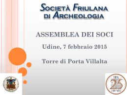 SFA 2014 - Societ Friulana di Archeologia