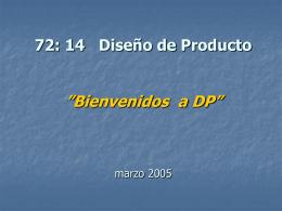 Que es un producto - Departamento de Ingeniería Industrial