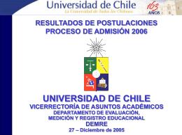 Vicerrectoría de Asuntos Académicos SELECCIONADOS CON