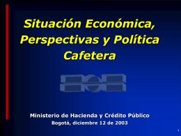 Congreso CafeteroMHCP - Federación Nacional de Cafeteros