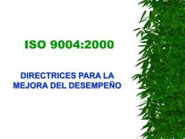 A14. ISO 9004 DEL 2000