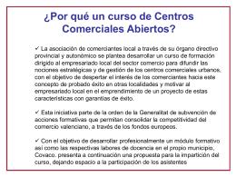Diapositiva 1 - Confederación Valenciana de Comercio, Covaco