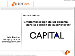 revista capital - Media Management Center