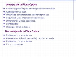 Introducción a la fibra