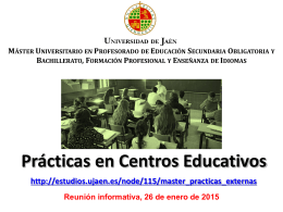 Diapositiva 1 - Universidad de Jaén