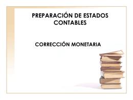 PREPARACIÓN DE ESTADOS CONTABLES 6.1 El Período Contable