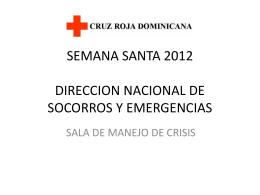File - Cruz Roja Dominicana, Puesto de Socorro de Bávaro