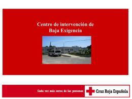CIBE de Cruz Roja Española - Red de Entidades para la Atención a