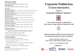 Curso Interactivo de Urgencias Pediátricas